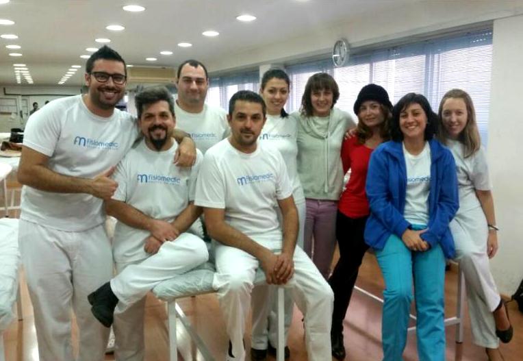 curso masaje deportivo fisiomedic aula de masaje